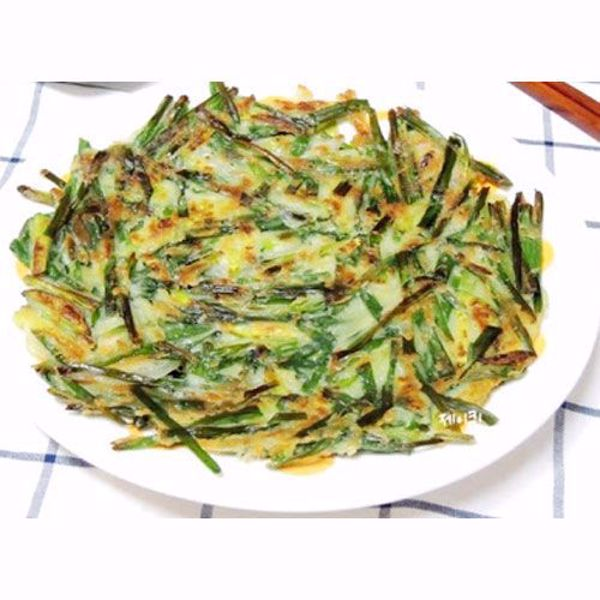[YummyDiners] Korean Chive Pancake (Bu-Chu-Jeon) 부추전