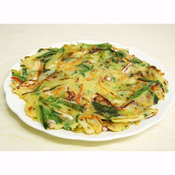 [YummyDiners]Seafood Green Onion Pancakes (Haemul Pajeon)해물파전