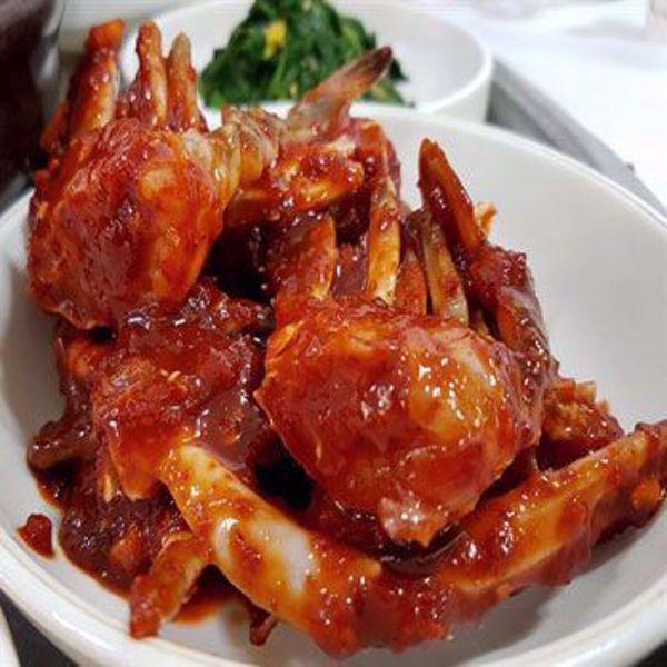 [YummyDiners] Spicy marinated crab 양념게장
