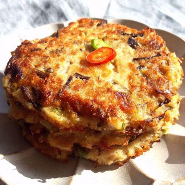 [YummyDiners]  Mung bean pancake(Jeon) 녹두전