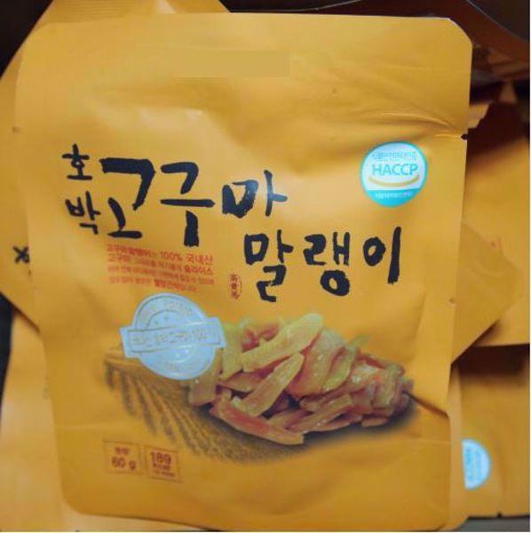 [한국청과] 고구마말랭이 / 60g x 10봉