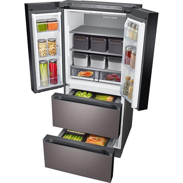 Smart Kimchi & Specialty 4-Door French Door Refrigerator in Platinum Bronze(RQ48T9432T1)