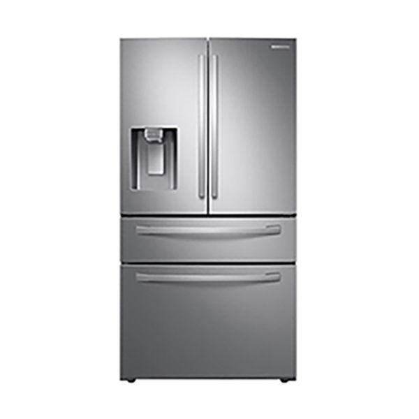 [Sansung]4-Door French Door Refrigerator with FlexZone™ Drawer in Stainless Steel(RF28R7201SR)